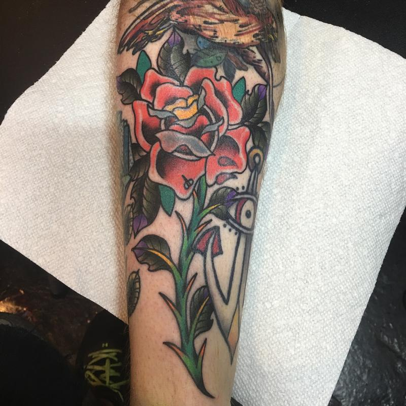 Rebel Muse Tattoo : Tattoos : Traditional Old School