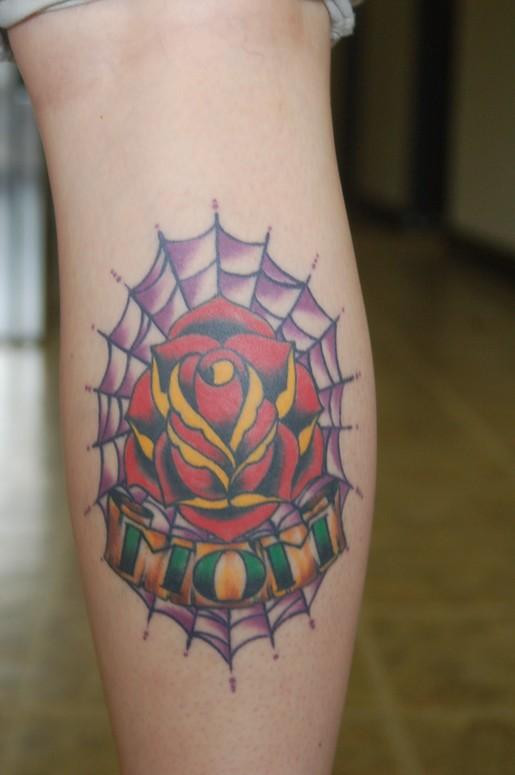 Traditional Mom Rose By Todd Lambright Tattoos