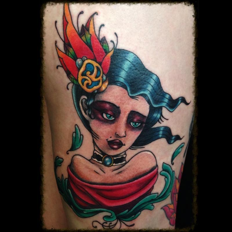 3c8dc613f Jesse Neumann @ Alternative Arts Tattoo : Tattoos : Feminine : Neo ...