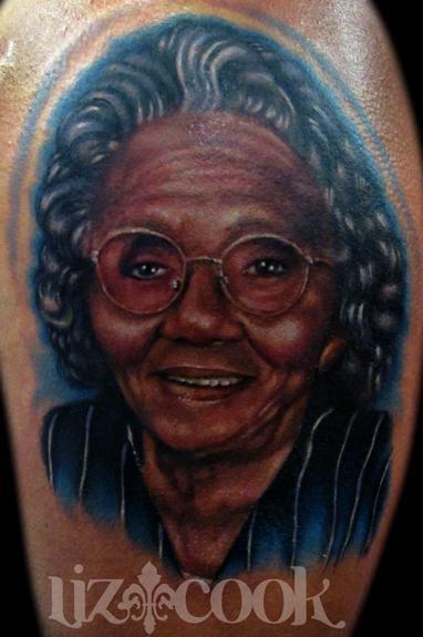 rebel muse tattoo tattoos dark skin portrait of