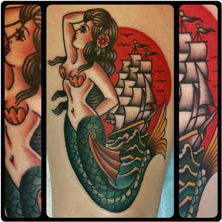 tattoos/ - Mermaid - 119984