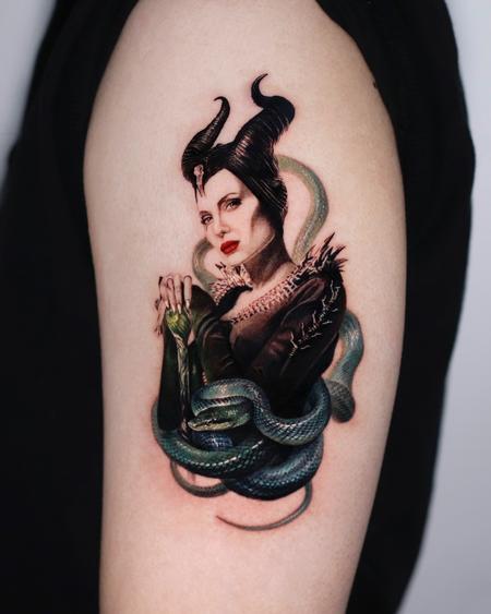 tattoos/ - Maleficent Tattoo - 143028