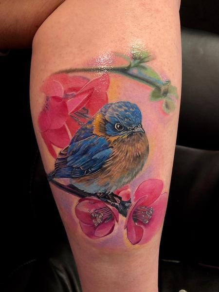 tattoos/ - Blue Bird - 138319