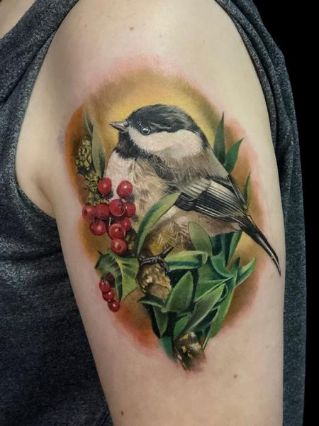 tattoos/ - Chickadee  - 138320