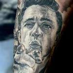 Johnny Cash Tattoo Design Thumbnail