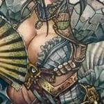 Lady Mechanika Tattoo Design Thumbnail