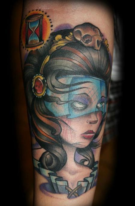 tattoos/ - New School Portrait - 68774