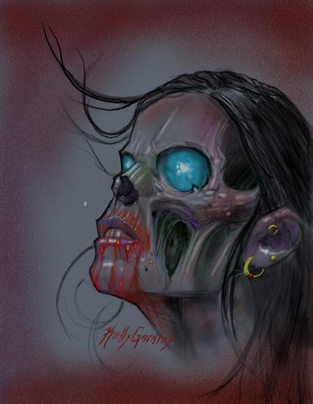 Art Galleries - Undead girl - 129714