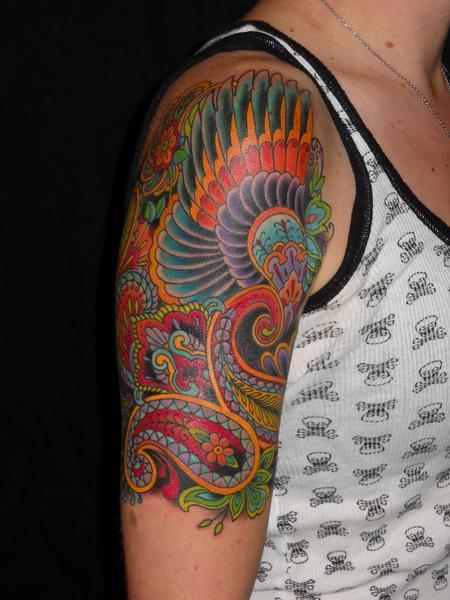 tattoos/ - decorative arm tattoo - 68781