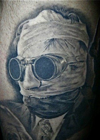 tattoos/ - Invisible Man Tattoo - 39380