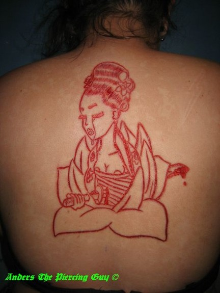 tattoos/ - Scarification & skin peel combo - 52815