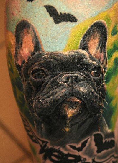 tattoos/ - Dog Portrait Tattoo - 65795