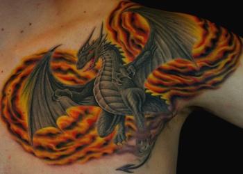 tattoos/ - Dragon - 20703
