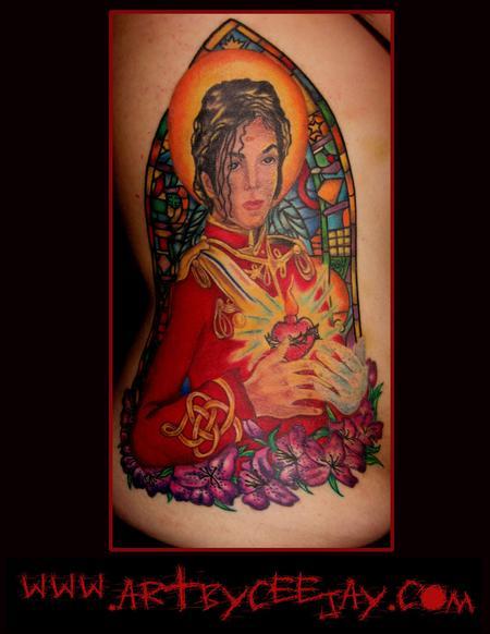 tattoos/ - Michael Jackson Tattoo - 63538
