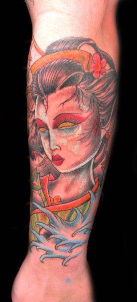 tattoos/ - Geisha Girl Tattoo - 65651
