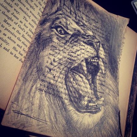 Art Galleries - Lion Commission - 75960