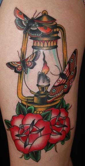 tattoos/ - Lamp Tattoo - 51742