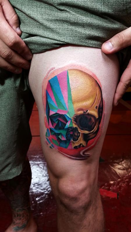 tattoos/ - shard skull - 91563