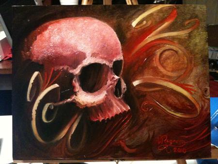 Art Galleries - Red Skull - 67765
