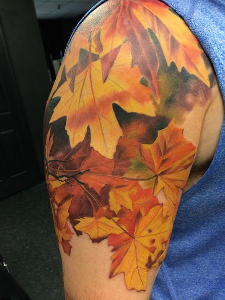 tattoos/ - Autumn Leaves - 104949