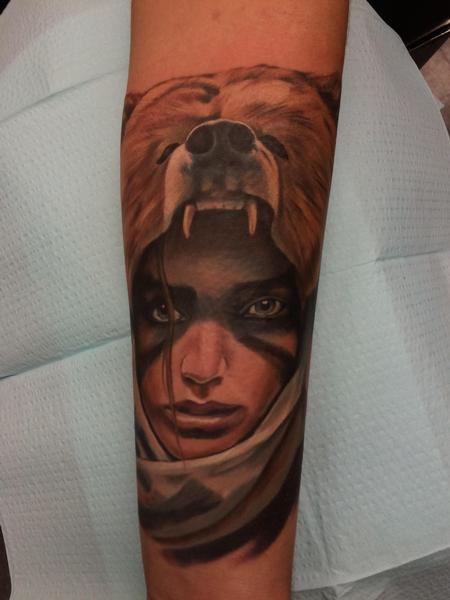 tattoos/ - Bear Girl - 106242
