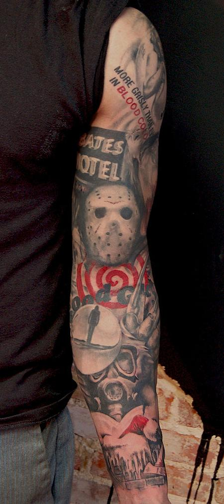 tattoos/ - Slasher sleeve - 63376
