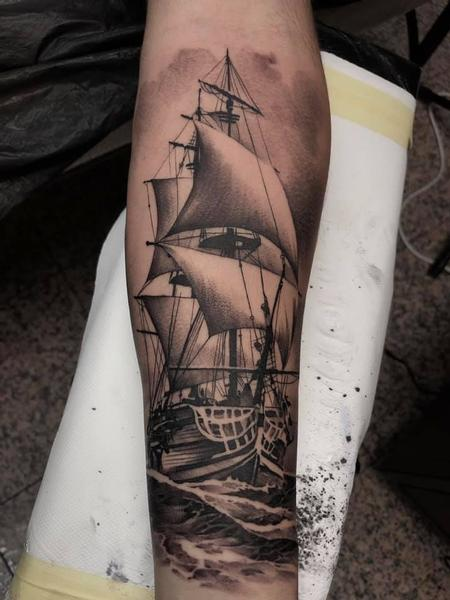 tattoos/ - Ship Tattoo - 140399