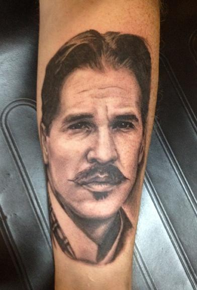 tattoos/ - Val Kilmer as Doc Holiday from