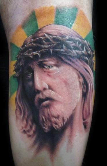 tattoos/ - Color Jesus - 52970