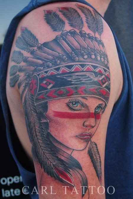 tattoos/ - Native americangirltattoo - 101779