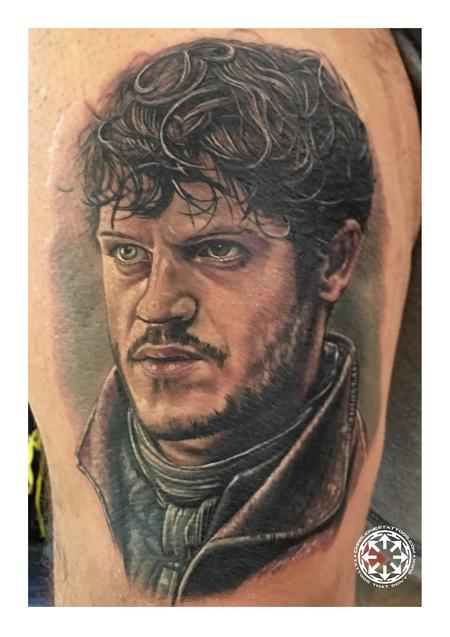 tattoos/ - Ramsay Bolton color portrait - 122470