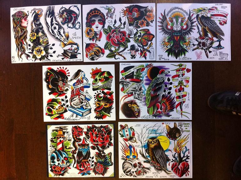 Art Galleries - Tattoo flash designs - 53289