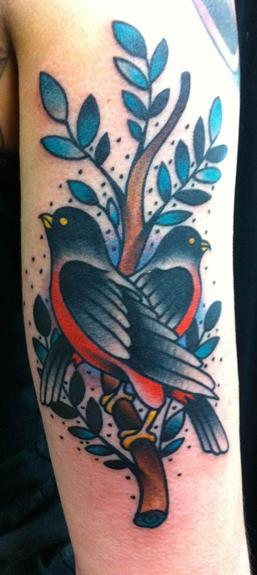 tattoos/ - Traditional bird tattoo - 53287