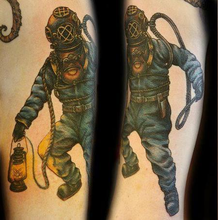 tattoos/ - Diver Tattoo - 67667