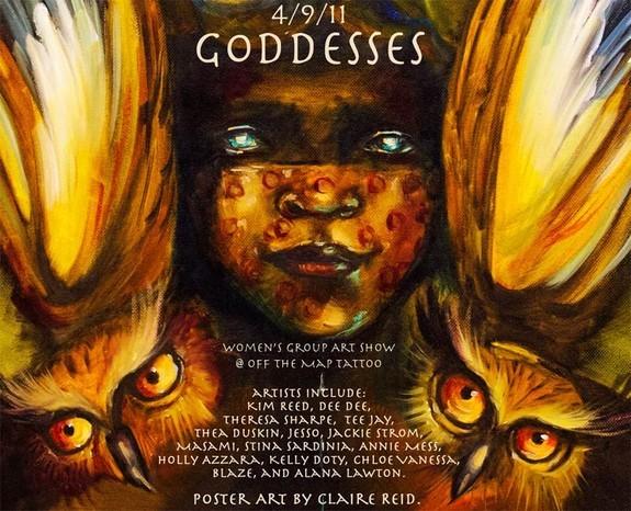 Art Galleries - Goddesses Art Show Poster - 51054