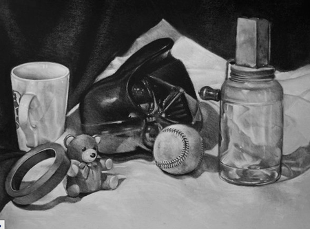 Art Galleries - darth vader still life - 58286
