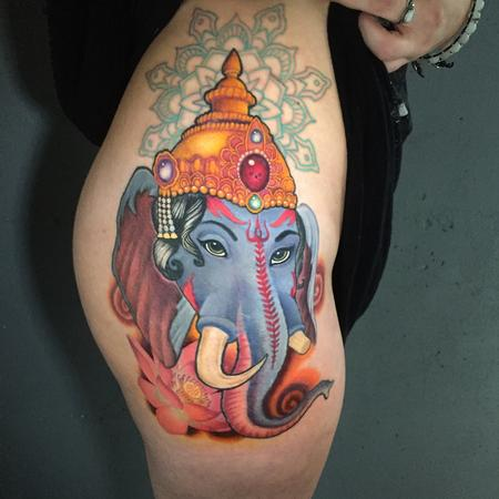 tattoos/ - Ganesha mandala(coverup) - 133433