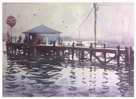 Art Galleries - Fuel Dock Blues - 99363