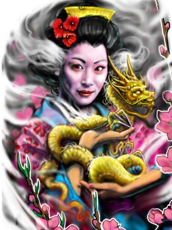 Art Galleries - geisha - 34394