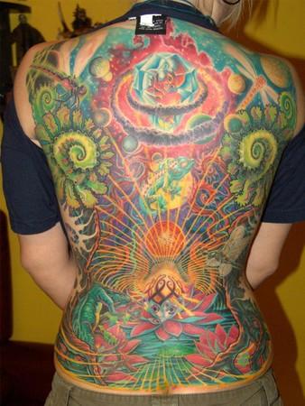tattoos/ - fantasy back - 34400