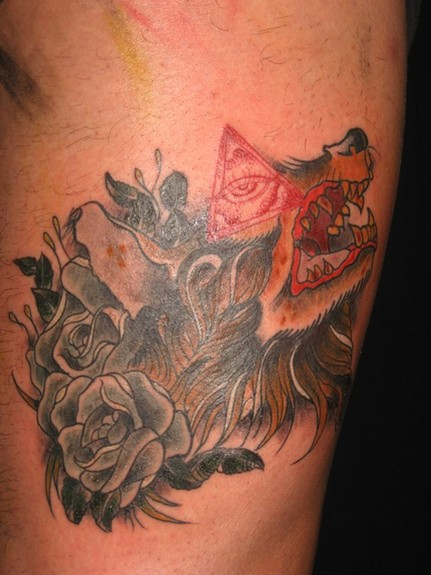 tattoos/ - Wolf Tattoo - 52008