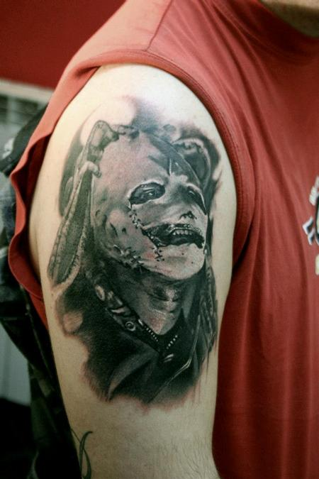 tattoos/ - Realistic portrait in black and grey - 89945