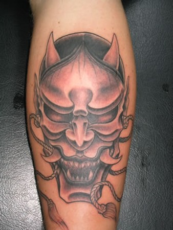 tattoos/ - Asian mask tattoo - 49336