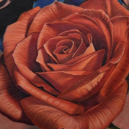 tattoos/ - Red Rose tattoo - 119505