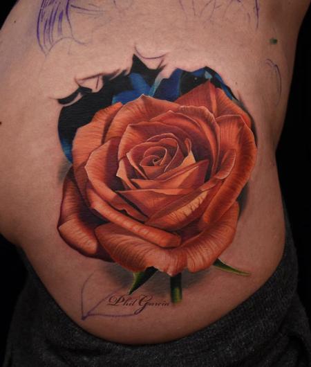 tattoos/ - Rose Rib Tattoo - 119504