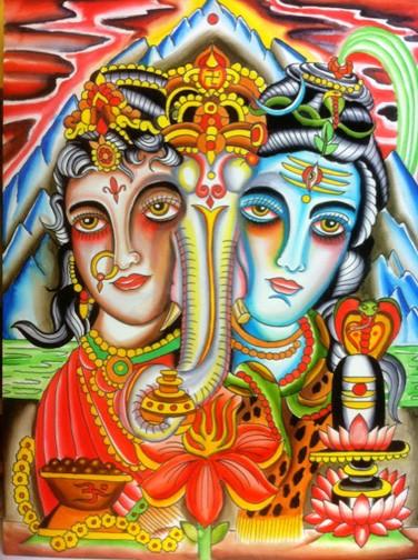 Art Galleries - Shiva, Ganesha, Paravati - 52693