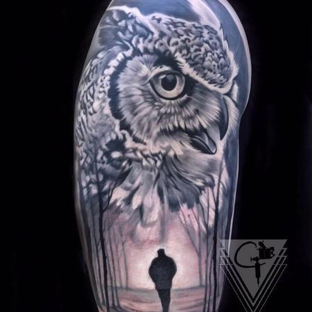 tattoos/ - Owl Tattoo - 131781