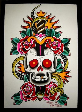 Art Galleries - skull/dagger - 42014