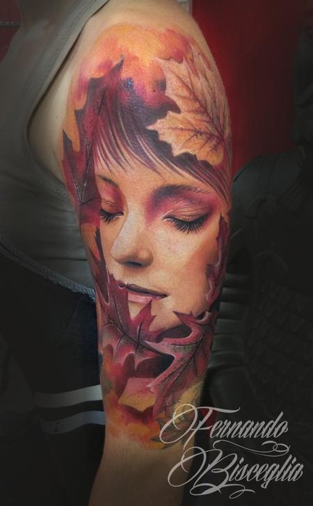 tattoos/ - autumn woman - 97787