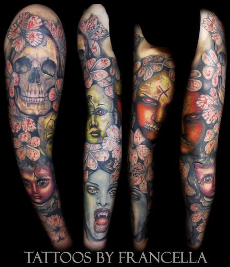 tattoos/ - Horror Sleeve - 130605